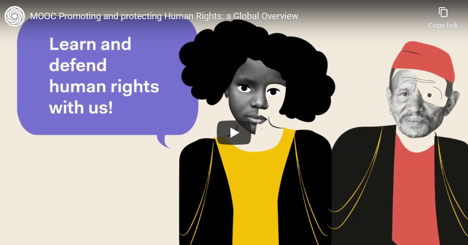 MOOC on Promoting and Protecting Human Rights: a Global Overview