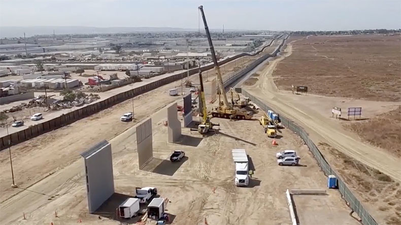 Can the Border Wall Be Built by a Private Entity?