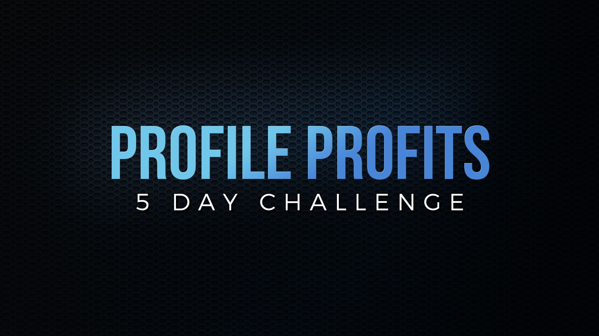 FB Profile Makeover Challenge
