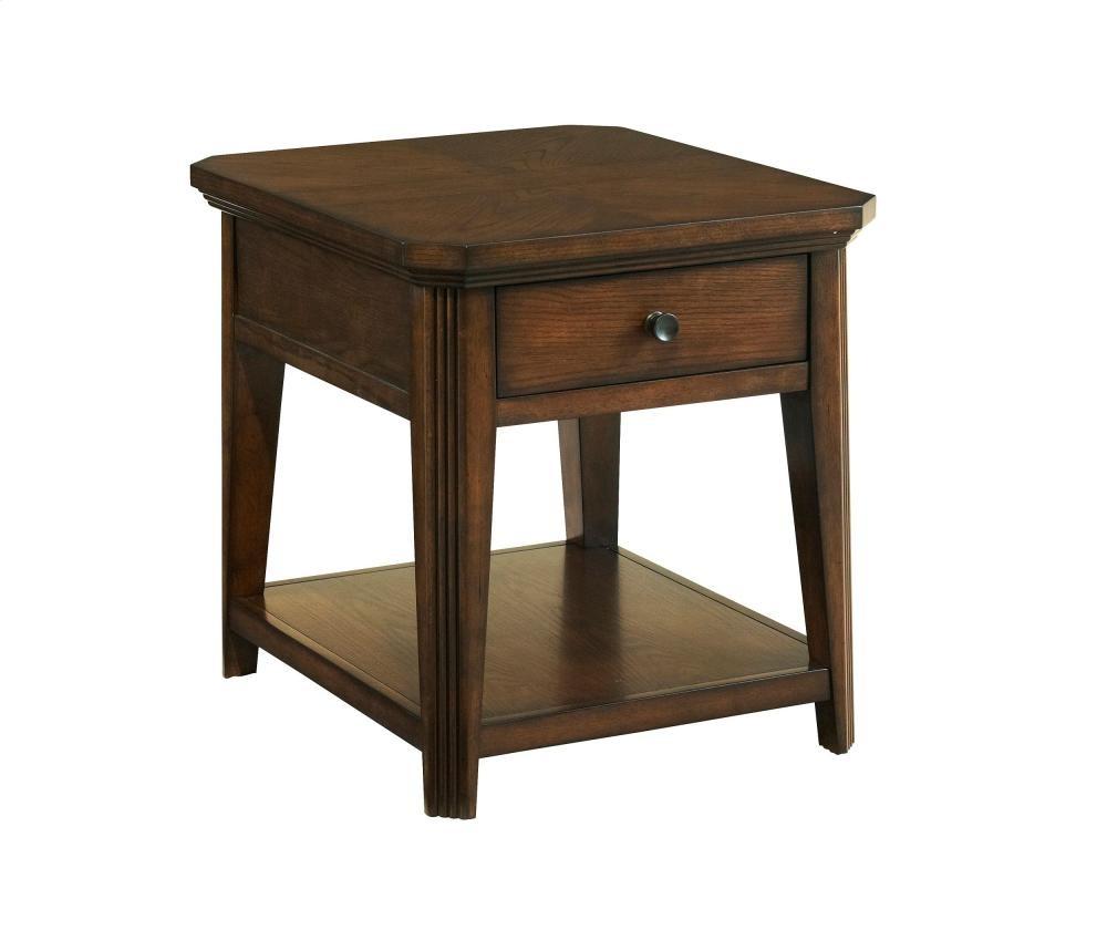 Broyhill Furniture Estes Park Drawer End Table
