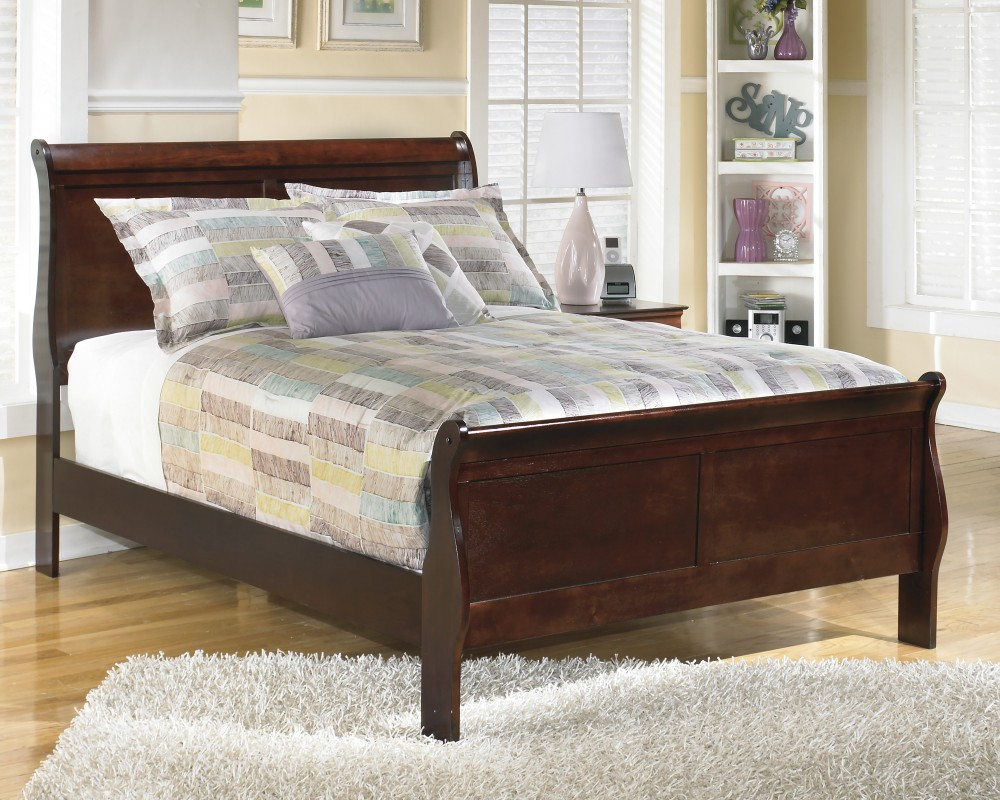 steel bed valencia upholstered grey sleigh main beds
