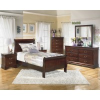Alisdair 4 Pc. Bedroom - Dresser, Mirror & Twin Sleigh Bed