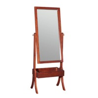 Harper Cherry Cheval Mirror