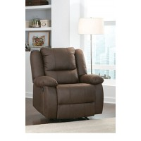 Mitchell - Dark Brown - Manual Motion Recliner