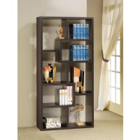 HOME OFFICE : BOOKCASES - Cappuccino Modular Bookcase