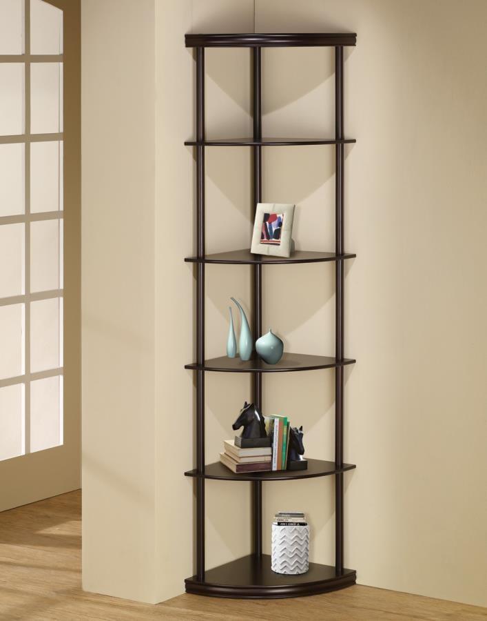 HOME OFFICE : BOOKCASES - CORNER BOOKCASE