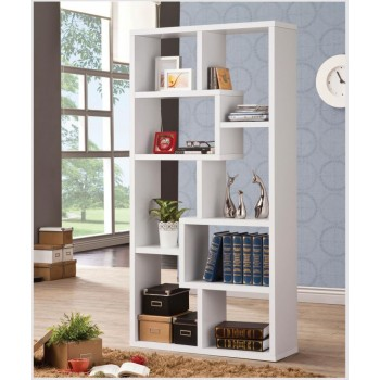 HOME OFFICE : BOOKCASES - Casual White Bookcase