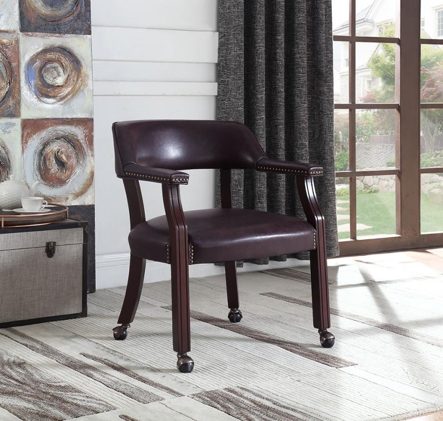 HOME OFFICE : CHAIRS - Modern Brown Office Chair