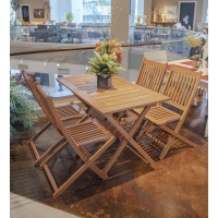 Ipnema Jatoba- Patio Dining Set