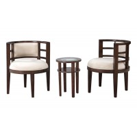 Cosmo 3Pc - Chairs & Table Set