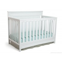 Princeton / Prescott 4-in-1 Crib - White