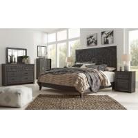 Paxberry - Vintage Black/Brown - King Bedroom Group