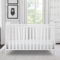 Capri 3-in-1-Crib White