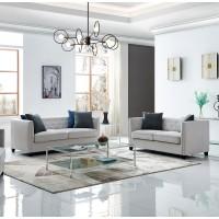 Regis Light Grey Living Room Group