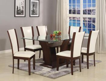 CROWN MARK Camelia 42x72 Dining
