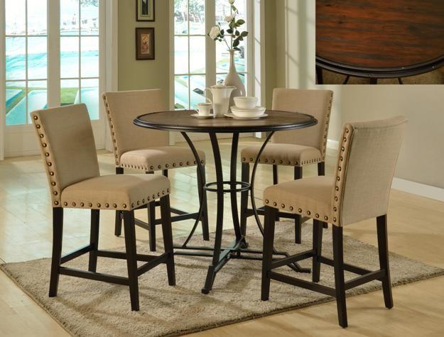Crown Mark Wyatt Counter Height Chair 1760s24 Bar