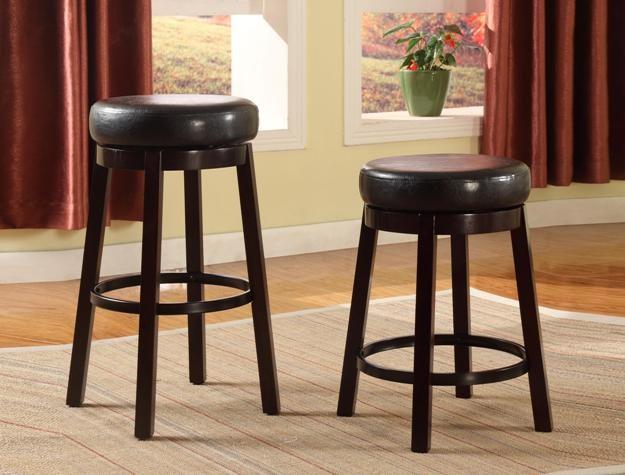 CROWN MARK Wendy Bar Height Swivel Chair Esp