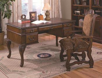 Crown Mark Neo Renaissance Desk 54002401 Home Office