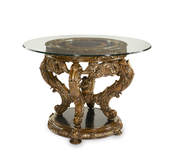 Amini Entry Table W Glass Top Acfentgrnd029 Table Tops Fowhand