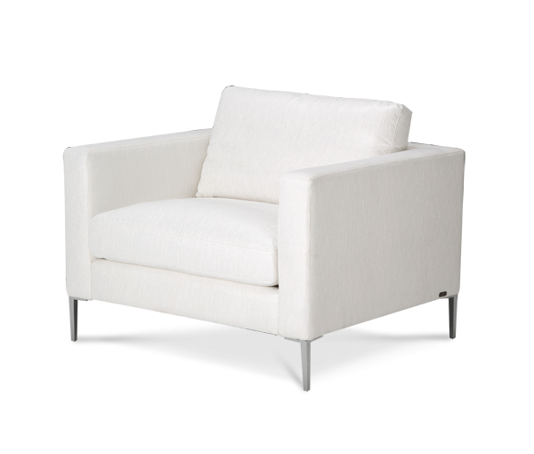 Amini Aeria Chair Brushednickel Staeria35ice94 Chairs