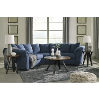 Darcy - Blue 2 Pc. Sectional