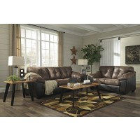 Gregale - Coffee - Sofa & Loveseat