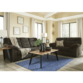 Gosnell - Chocolate - Sofa & Loveseat