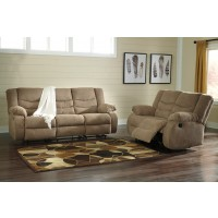 Tulen - Mocha - Reclining Sofa & Loveseat