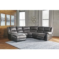 Nantahala - Slate 5 Pc LAF Corner Chaise Sectional