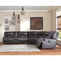 McCaskill - Gray 3 Pc Power Reclining Sectional