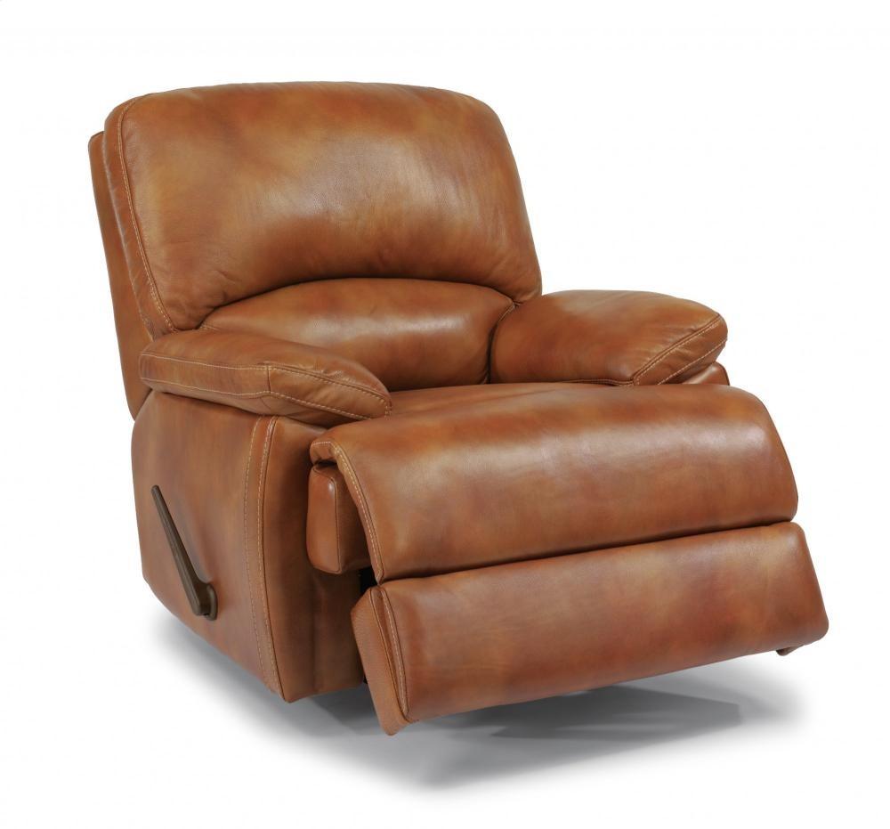 Superb Dylan Leather Chaise Rocking Recliner 1127510 Leather Inzonedesignstudio Interior Chair Design Inzonedesignstudiocom
