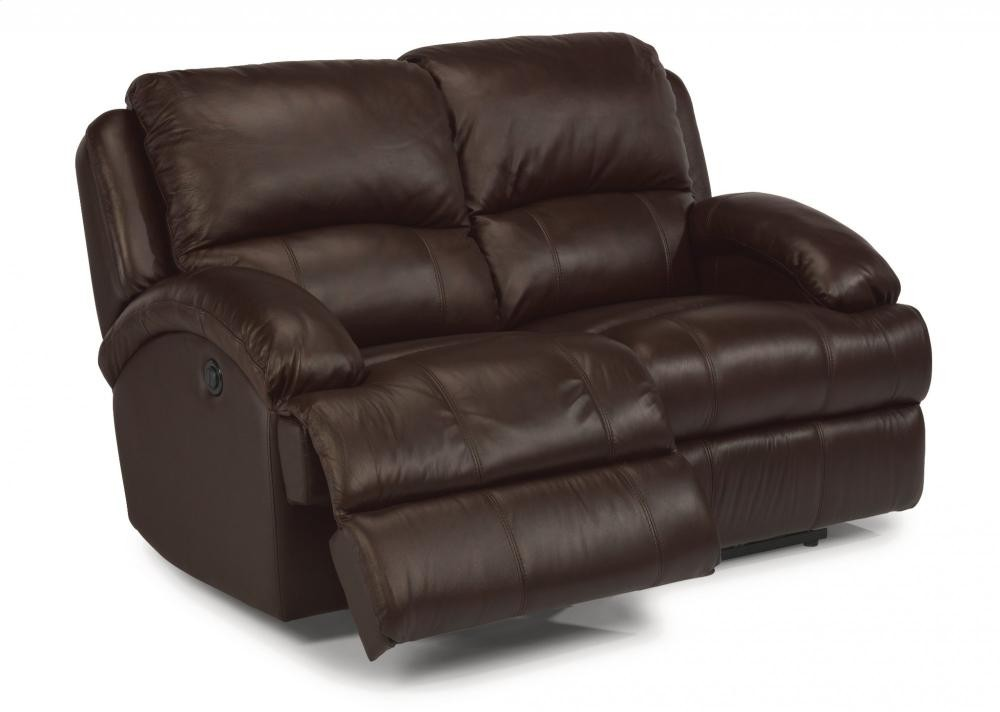 Wondrous Fast Lane Leather Power Reclining Loveseat 124260P Inzonedesignstudio Interior Chair Design Inzonedesignstudiocom