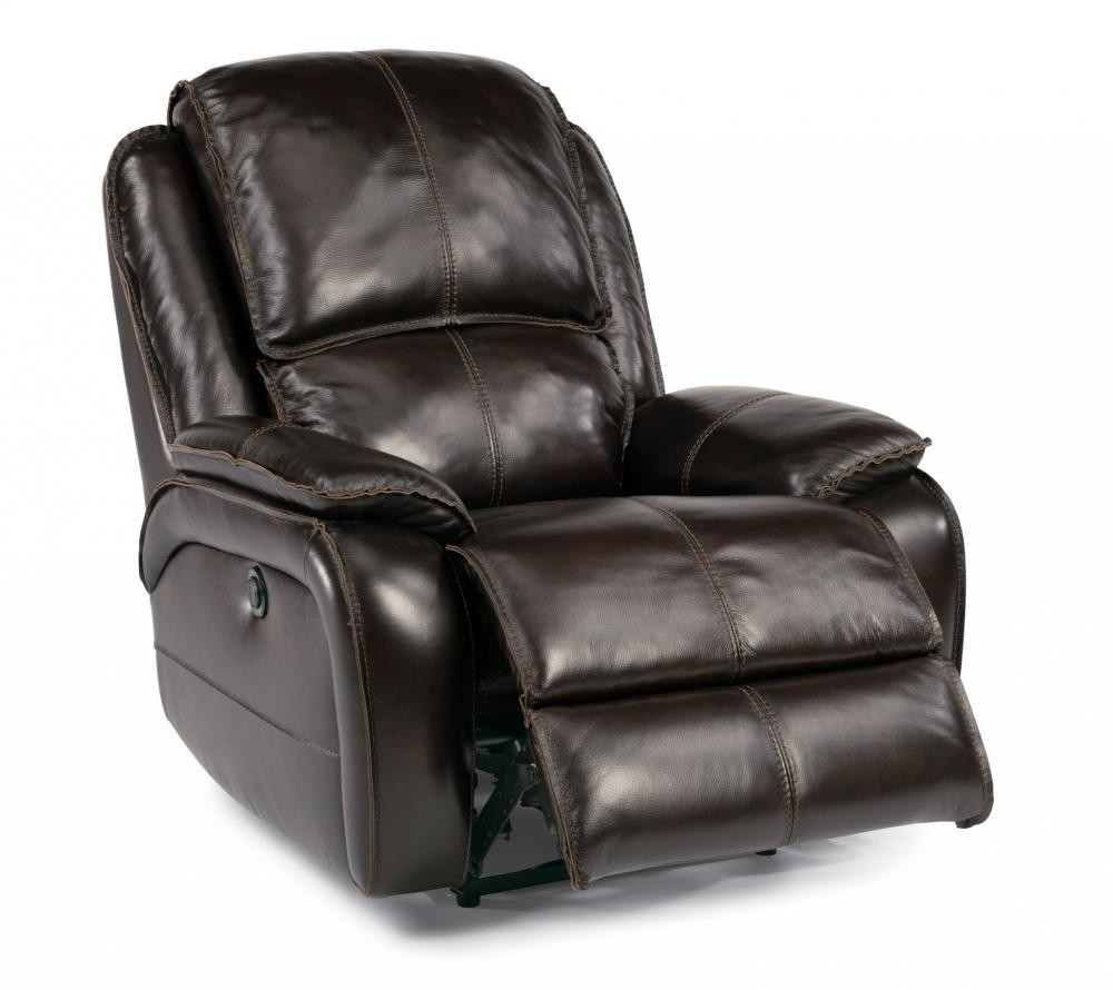 Avery Leather Power Recliner 1270500p Leather Power