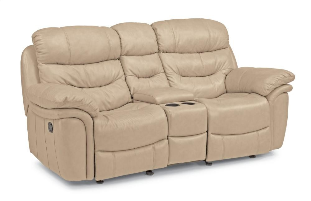 Swell Westport Leather Gliding Reclining Loveseat With Console Uwap Interior Chair Design Uwaporg