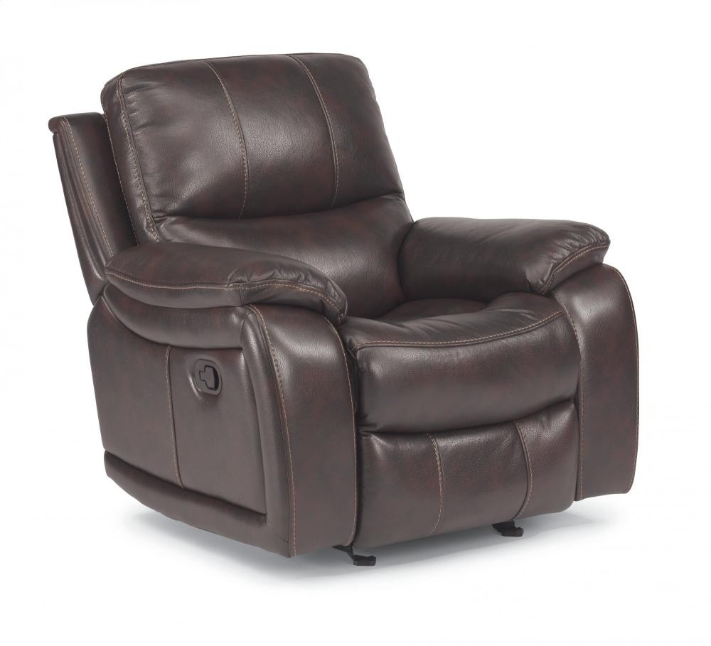 Woodstock Fabric Gliding Recliner 129854 Naturally