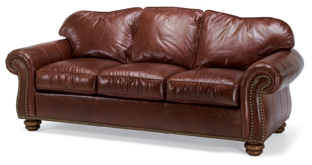 Bexley Leather Sofa With Nailhead Trim 364831 Leather Reclining