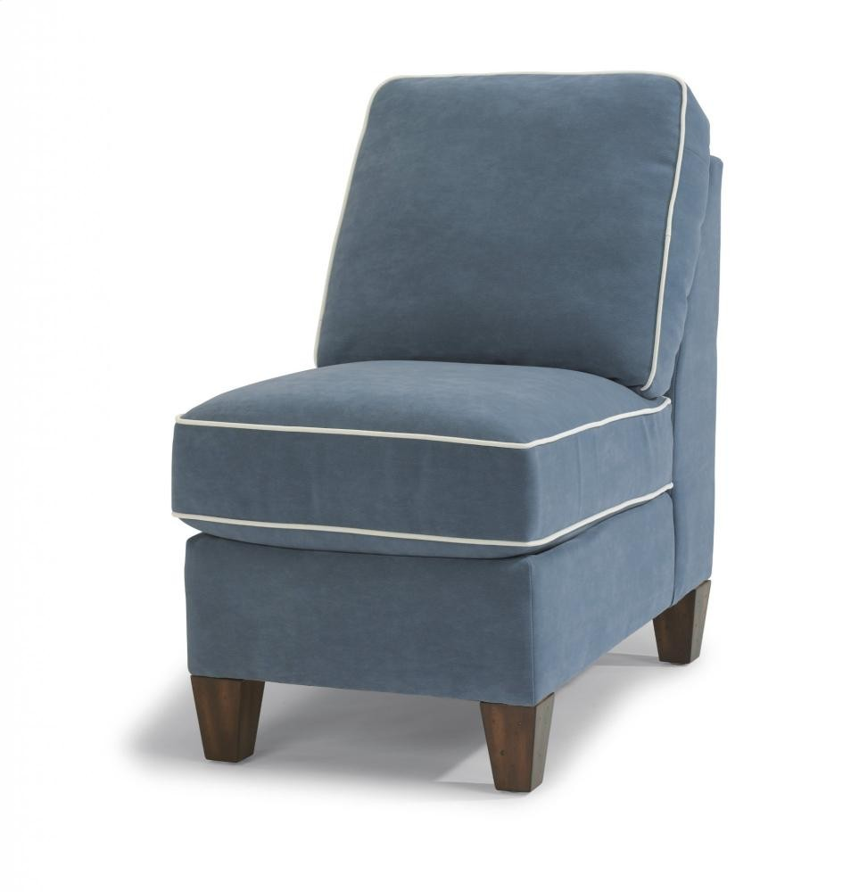 Charmant Westside Leather Armless Chair