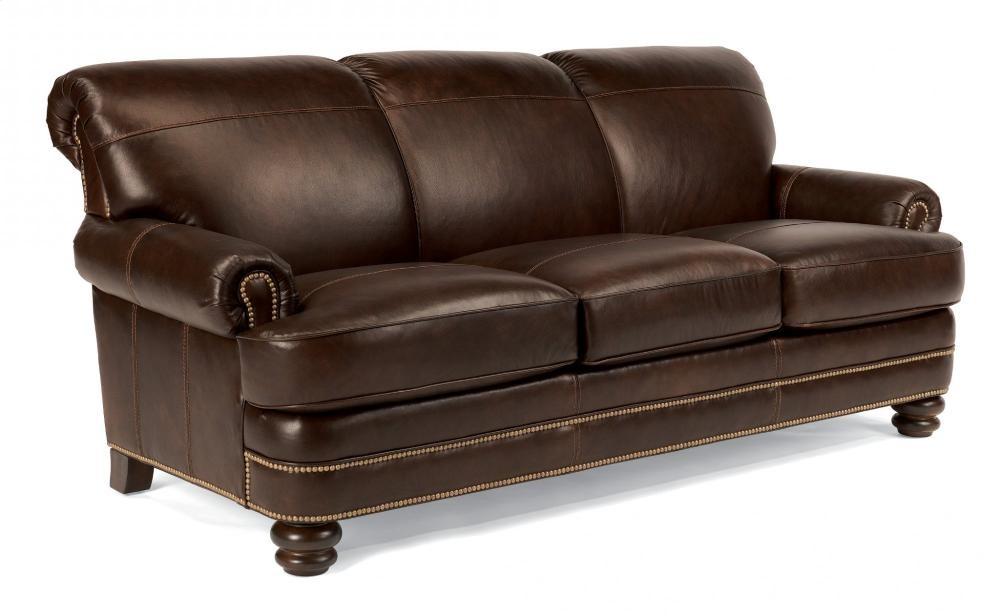 Cool Bay Bridge Leather Sofa with Nailhead Trim Picture - Popular nailhead leather sofa Photo