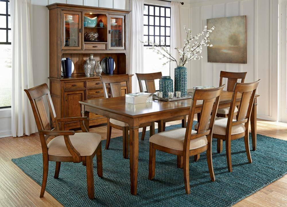 River Valley Rectangular Dining Table W1572830 Tables