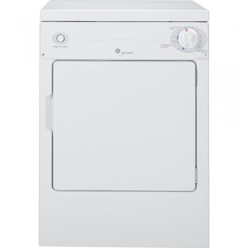 GENERAL ELECTRIC GE Spacemaker(R) 120V 3.6 Cu. Ft. Capacity Portable Electric Dryer