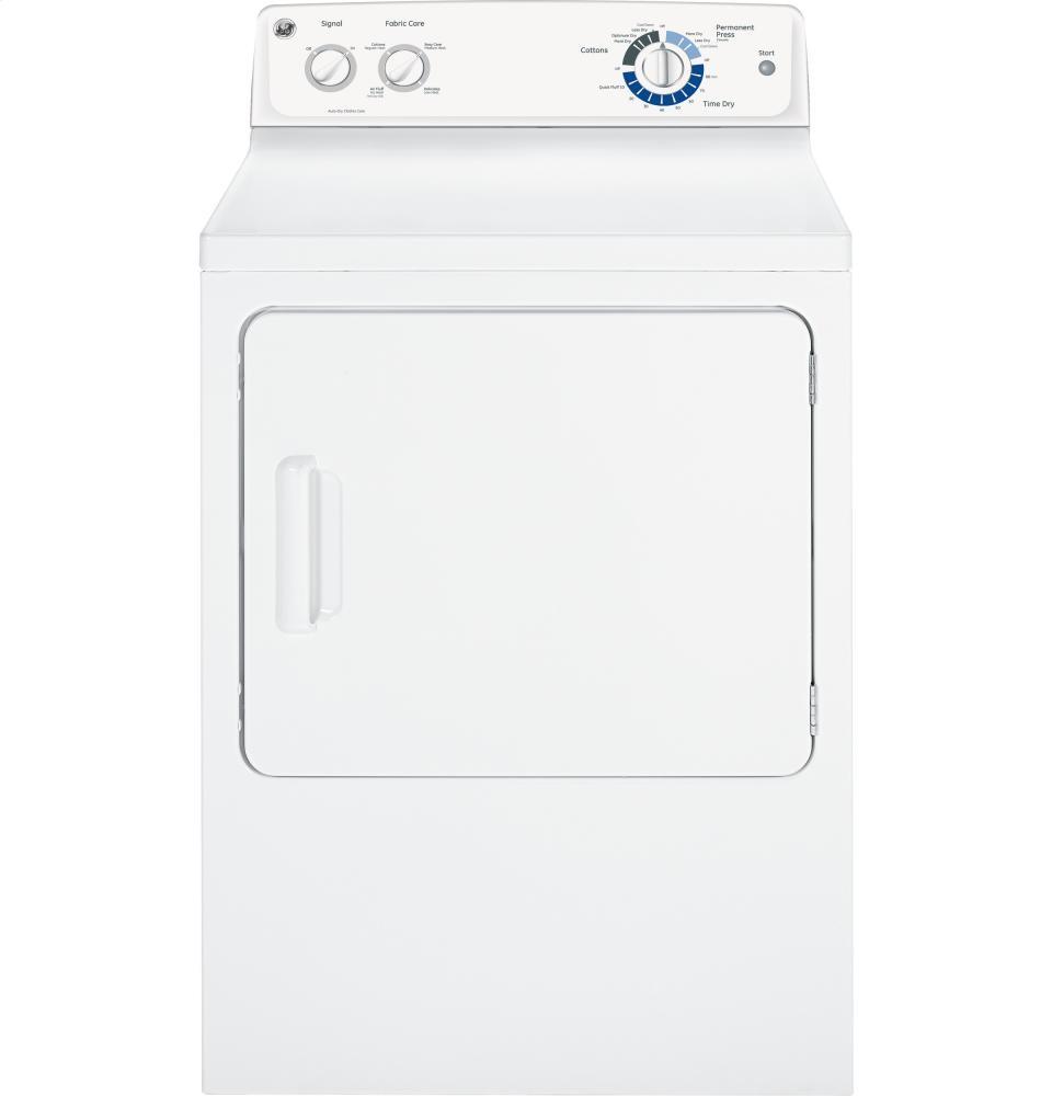 GENERAL ELECTRIC GE(R) 7.0 cu. ft. capacity Dura Drum gas dryer