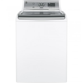 GENERAL ELECTRIC GE(R) 5.1 DOE cu. ft. capacity washer with stainless steel basket