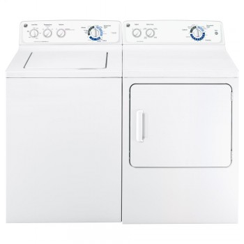 GENERAL ELECTRIC GE(R) 3.8 DOE cu. ft. stainless steel capacity washer