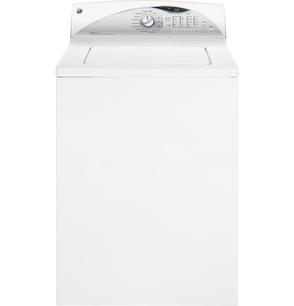 GENERAL ELECTRIC GE(R) 3.8 DOE cu. ft. washer with stainless steel basket