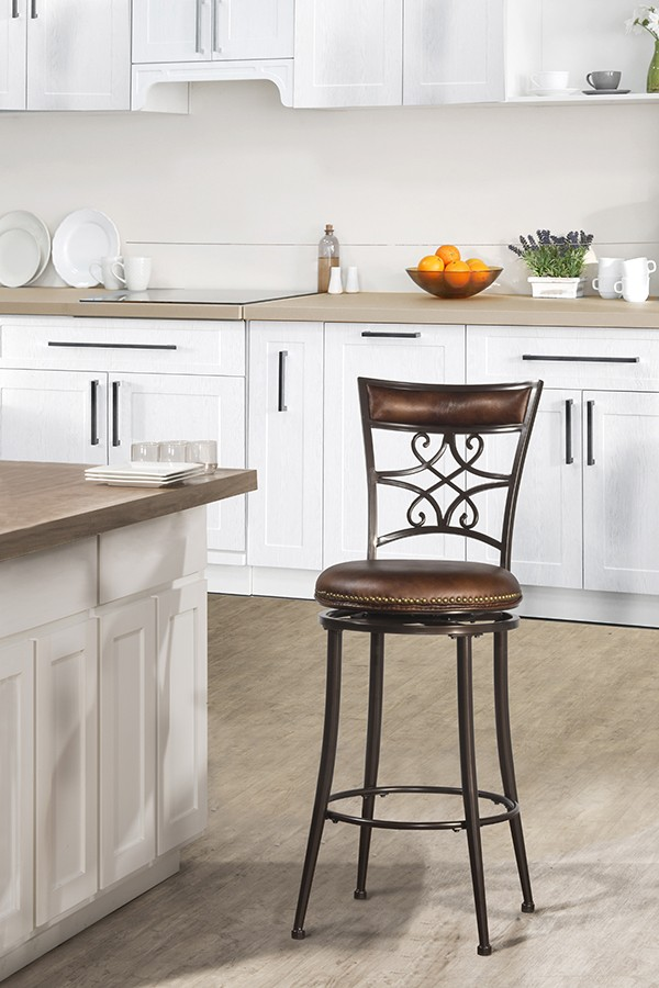 Hillsdale Furniture Seville Swivel Bar Stool 4492830 Bar Stools