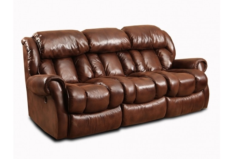 HOMESTRETCH Double Reclining Sofa