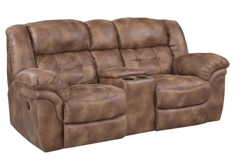HOMESTRETCH Power Console Loveseat