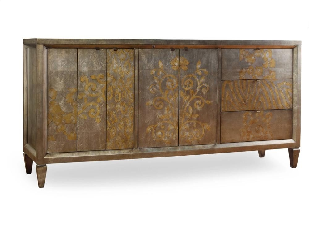 Sanctuary Four-Door Three-Drawer Console - Visage