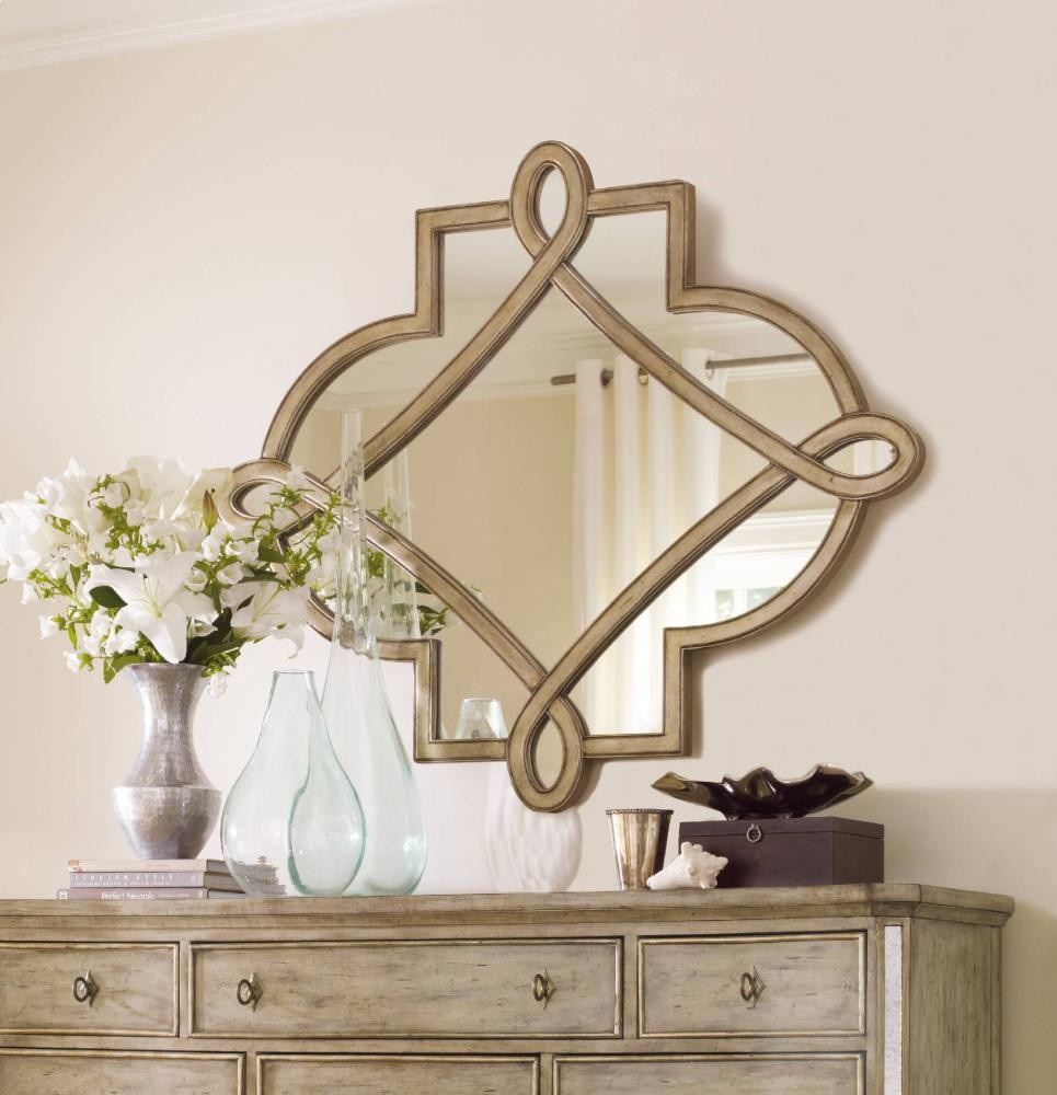 Hooker Furniture Bathroom Vanity: Sanctuary Shaped Mirror - Visage