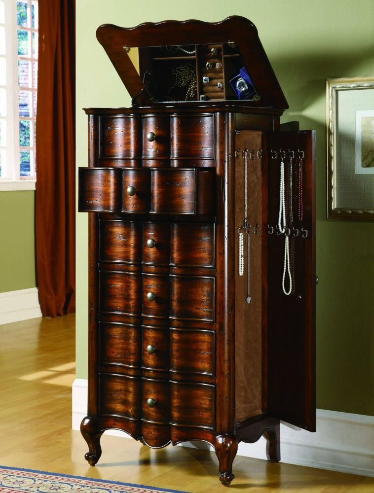 French Jewelry Armoire | 50050757 | Armoires | Abe Krasne ...